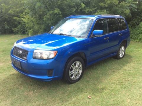 2008 Subaru Forester for sale in Dallas, TX