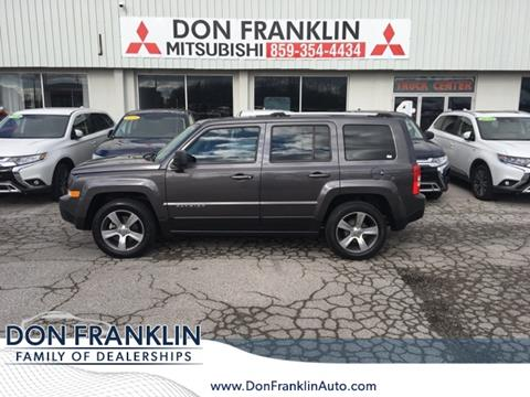 Don Franklin Mitsubishi >> 2016 Jeep Patriot For Sale In Nicholasville Ky