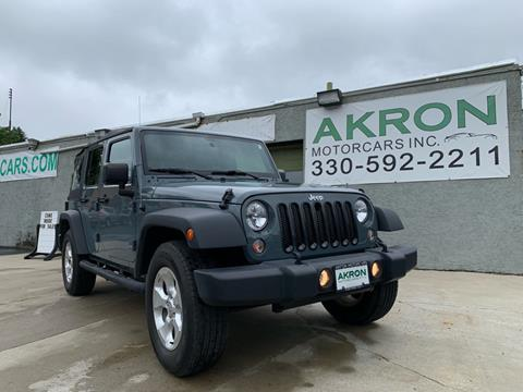 2015 Jeep Wrangler Unlimited for sale in Akron, OH