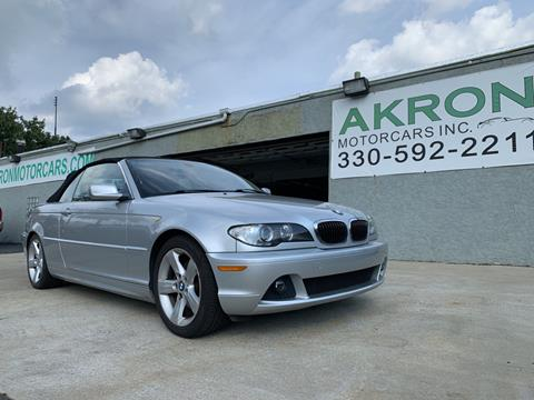 2005 BMW 3 Series for sale in Akron, OH