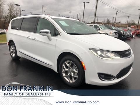 Don Franklin Somerset Ky >> 2018 Chrysler Pacifica For Sale In Somerset Ky