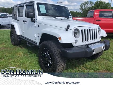 2017 Jeep Wrangler Unlimited for sale in Somerset, KY