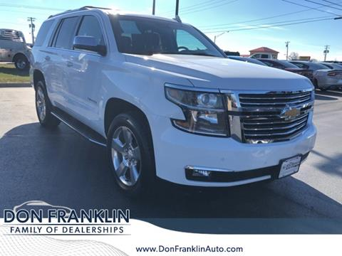2018 Chevrolet Tahoe for sale in Somerset, KY