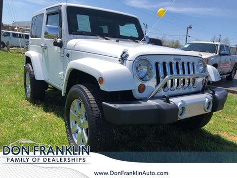 2012 Jeep Wrangler for sale in Somerset, KY