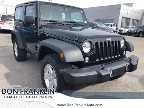 2016 Jeep Wrangler for sale in Somerset, KY