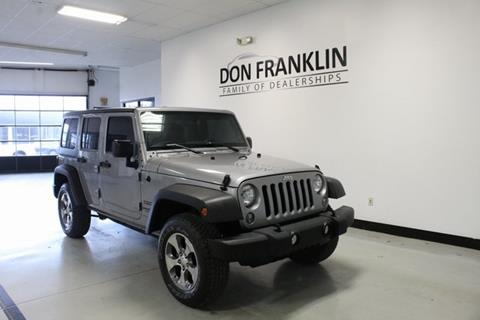 2016 Jeep Wrangler Unlimited for sale in Nicholasville, KY