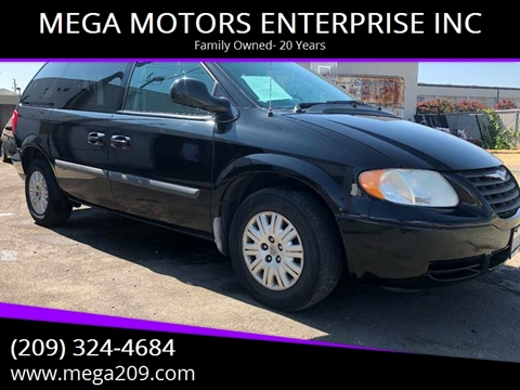 2007 Chrysler Town and Country for sale at MEGA MOTORS ENTERPRISE INC in Modesto CA