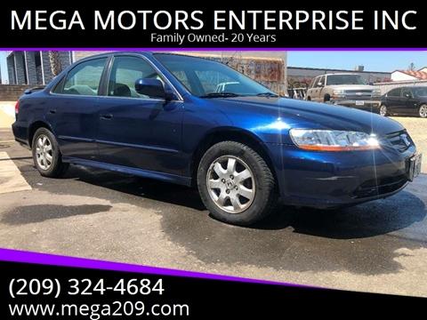 2001 Honda Accord for sale at MEGA MOTORS ENTERPRISE INC in Modesto CA
