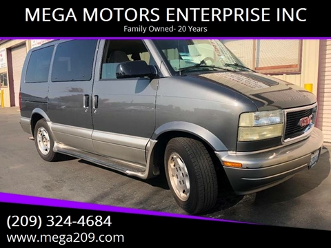 2005 GMC Safari for sale at MEGA MOTORS ENTERPRISE INC in Modesto CA