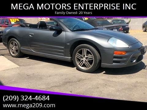 2003 Mitsubishi Eclipse Spyder for sale at MEGA MOTORS ENTERPRISE INC in Modesto CA