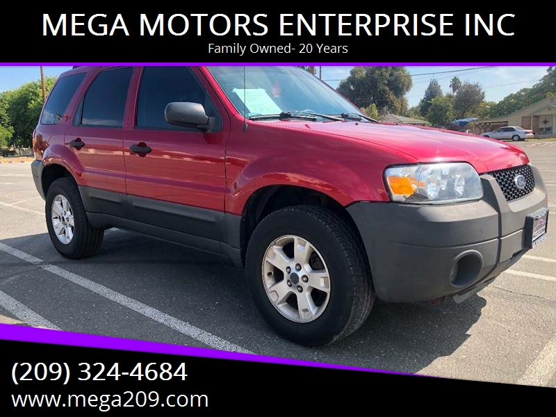 2005 Ford Escape for sale at MEGA MOTORS ENTERPRISE INC in Modesto CA