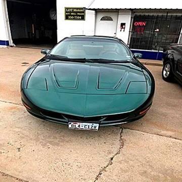 1995 Pontiac Firebird for sale in Amarillo, TX