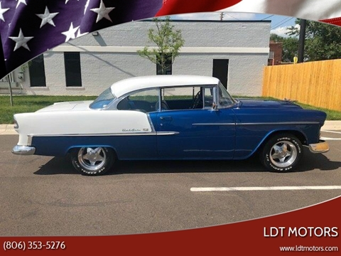 1955 Chevrolet Bel Air for sale at LDT MOTORS in Amarillo TX