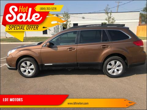 2011 Subaru Outback for sale at LDT MOTORS in Amarillo TX