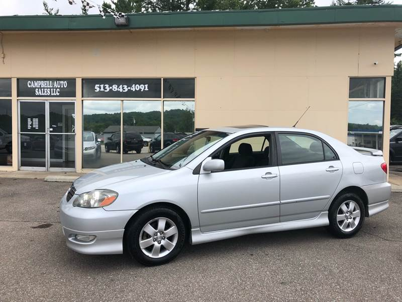 2006 Toyota Corolla For Sale At Campbell Auto Sales In Batavia OH