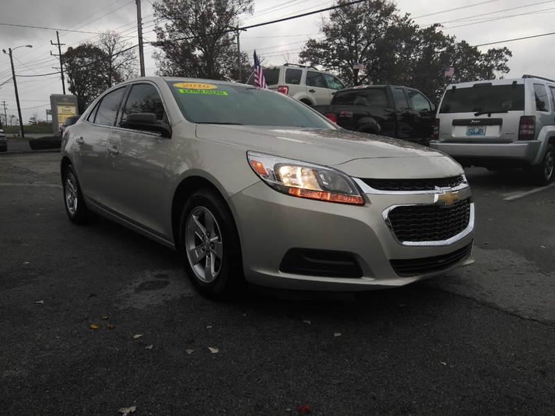 2016 chevrolet malibu limited ls in winchester ky don senor auto sales. Black Bedroom Furniture Sets. Home Design Ideas