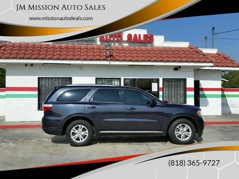 San Fernando Dodge >> 2013 Dodge Durango Sxt 4dr Suv In San Fernando Ca Jm