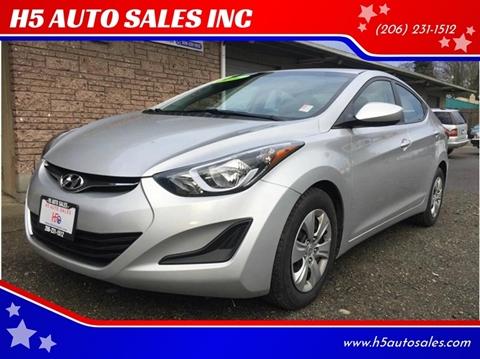 2016 Hyundai Elantra for sale in Federal Way, WA