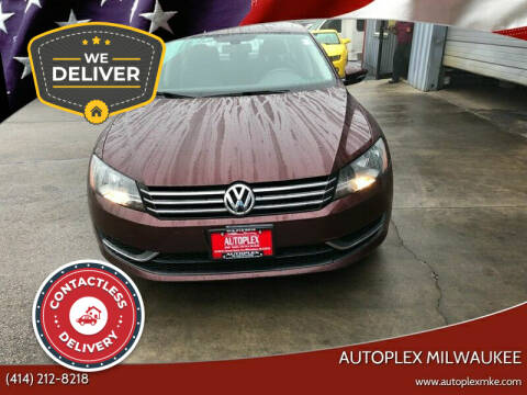 2012 Volkswagen Passat for sale at Autoplex in Milwaukee WI