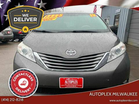 2013 Toyota Sienna for sale at Autoplex in Milwaukee WI