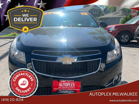 2012 Chevrolet Cruze for sale at Autoplex in Milwaukee WI
