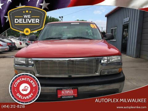 2001 Chevrolet Silverado 1500 for sale at Autoplex in Milwaukee WI