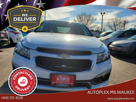 2015 Chevrolet Cruze for sale at Autoplex in Milwaukee WI