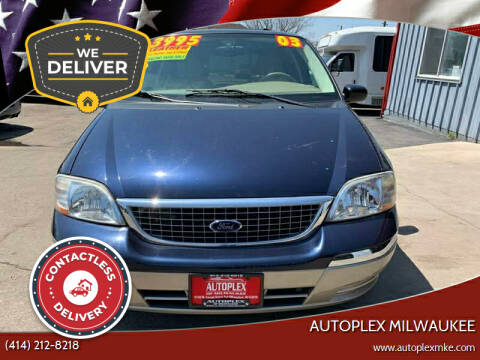 2003 Ford Windstar for sale at Autoplex in Milwaukee WI