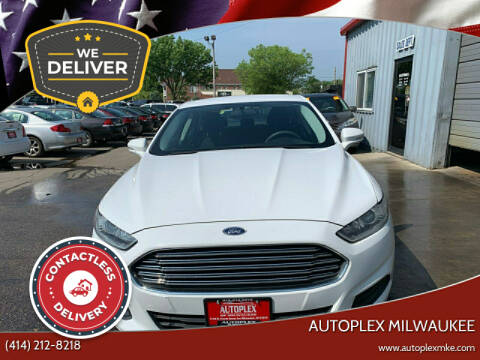 2013 Ford Fusion for sale at Autoplex in Milwaukee WI