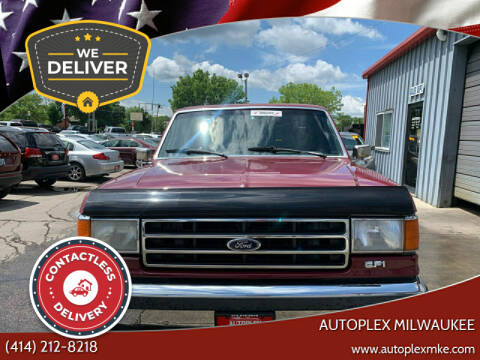 1990 Ford F-150 for sale at Autoplex in Milwaukee WI