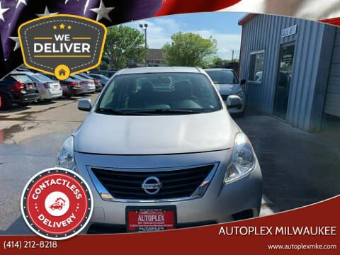 2013 Nissan Versa for sale at Autoplex in Milwaukee WI