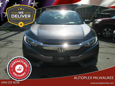 2016 Honda Civic for sale at Autoplex in Milwaukee WI