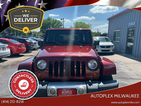 2008 Jeep Wrangler Unlimited for sale at Autoplex in Milwaukee WI