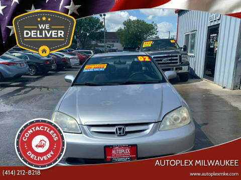 2002 Honda Civic for sale at Autoplex 2 in Milwaukee WI