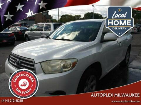 2008 Toyota Highlander for sale at Autoplex 2 in Milwaukee WI