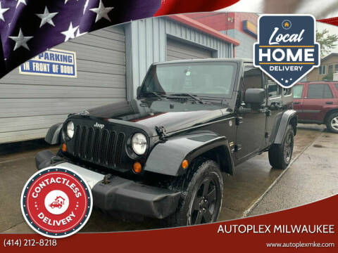 2008 Jeep Wrangler Unlimited for sale at Autoplex 2 in Milwaukee WI