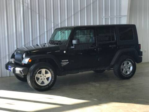 2010 Jeep Wrangler Unlimited Sport for sale at Shifted in La Crescent MN