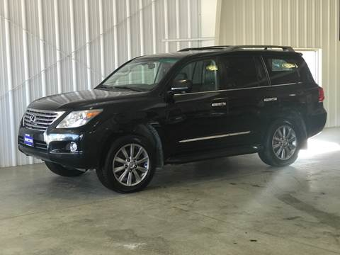 2009 Lexus LX 570 for sale at Shifted in La Crescent MN