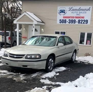 Guaranteed Auto Sales >> Chevrolet Impala For Sale In Attleboro Ma Landmark Auto