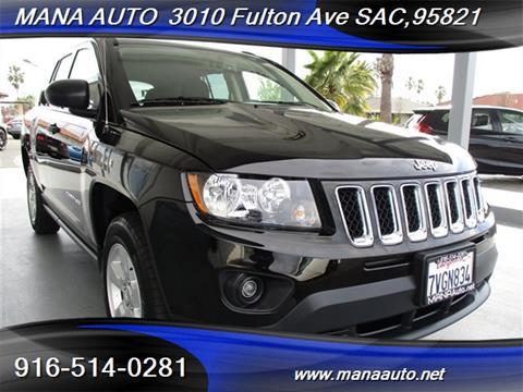 2016 Jeep Compass for sale in Sacramento, CA