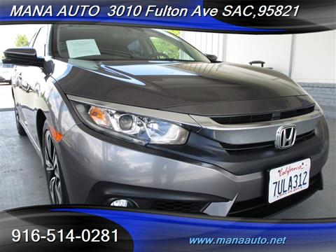 2016 Honda Civic for sale in Sacramento, CA