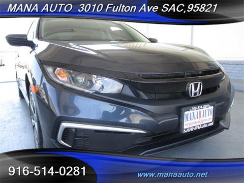 2019 Honda Civic for sale in Sacramento, CA