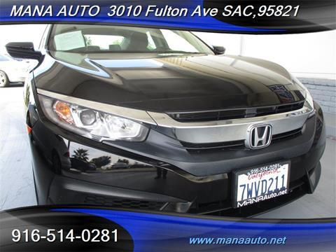 2017 Honda Civic for sale in Sacramento, CA