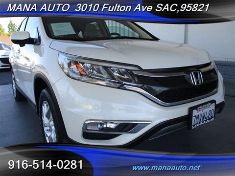 2015 Honda CR-V for sale in Sacramento, CA