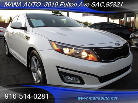 2015 Kia Optima for sale in Sacramento, CA