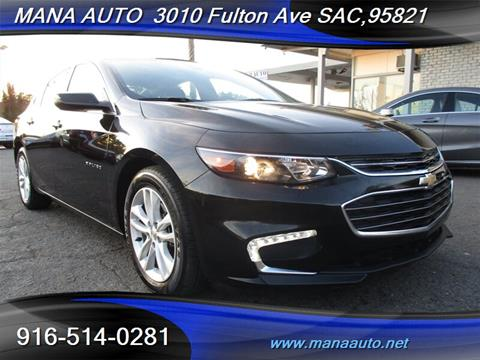 2017 Chevrolet Malibu for sale in Sacramento, CA