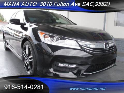 2017 Honda Accord for sale in Sacramento, CA