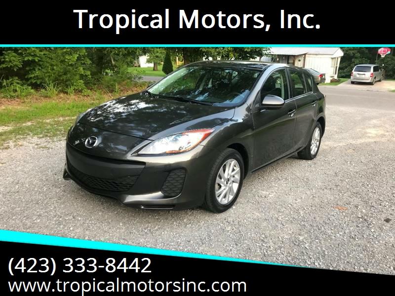 2013 Mazda MAZDA3 for sale at Tropical Motors, Inc. in Riceville TN