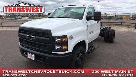2019 Chevrolet Silverado 5500HD for sale in Sterling, CO