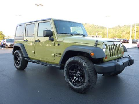 2013 Jeep Wrangler Unlimited for sale in Knoxville, TN